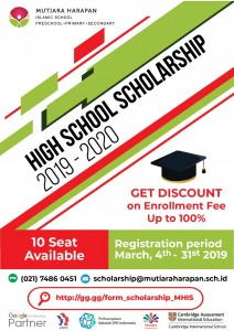 POSTER SCHOLARSHIP MHIS